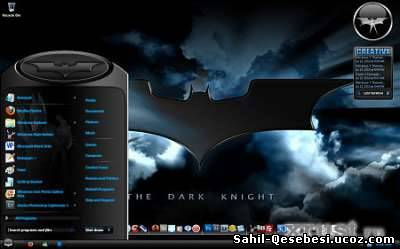 Windows 7 Dark Knight Teması
